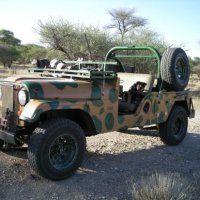 Otjiruse Hunting Jeep